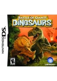 Battle of Giants - Dinosaurs/DS