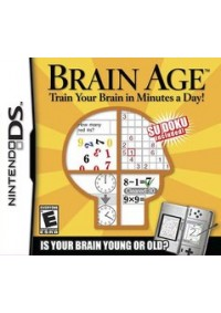 Brain Age Train Your Brain in Minutes a Day!/DS