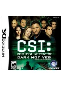 CSI Dark Motives/DS