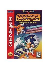 Wacky Worlds Creativity Studio /Genesis