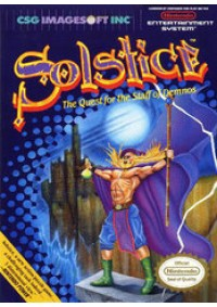 Solstice The Quest For The Staff Of Demnos/NES