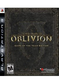 Elder Scrolls IV Oblivion Game Of The Year Edition/PS3