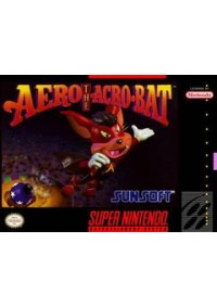 Aero The Acro-Bat/SNES