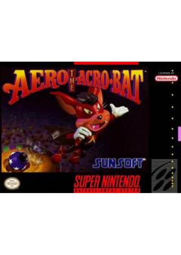 Aero The Acro-Bat/SNES