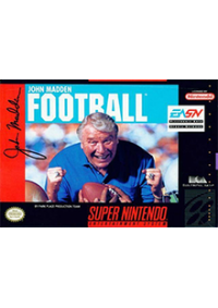 John Madden Football/SNES