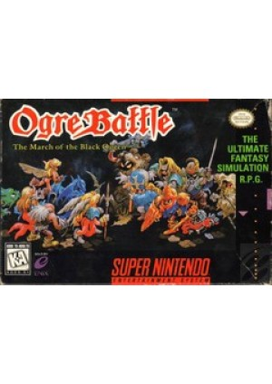 Ogre Battle The March Of The Black Queen/SNES