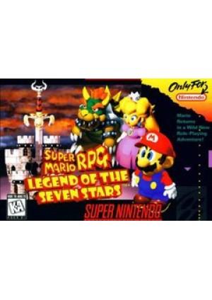 Super Mario RPG Legend Of The Seven Stars/SNES