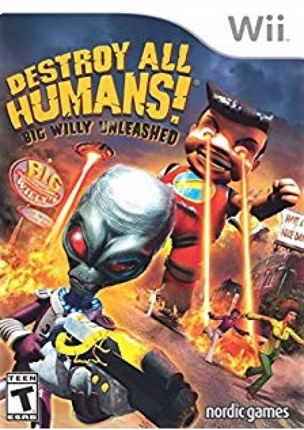 Destroy All Humans! Big Willy Unleashed/Wii