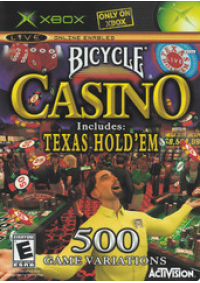 Bicycle Casino Includes Texas Hold'em/Xbox
