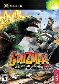 Godzilla Destroy All Monsters Melee/Xbox