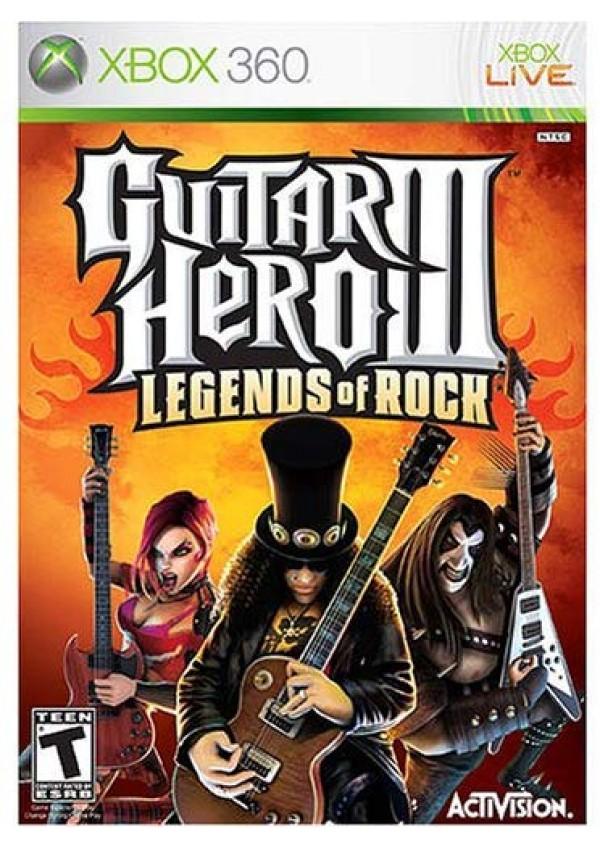 Guitar Hero III Legends of Rock (Jeu seulement) / Xbox 360