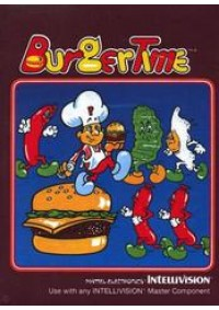 Burger Time/Intellivision