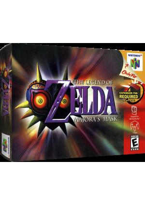 Legend Of Zelda Majora's Mask/N64