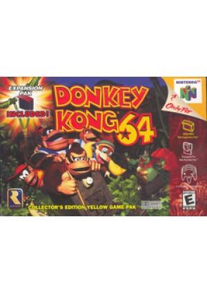 Donkey Kong 64/N64
