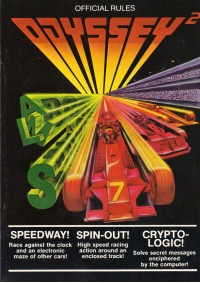 Speedway / Spin-out / Crypto-logic / Magnavox Odyssey 2