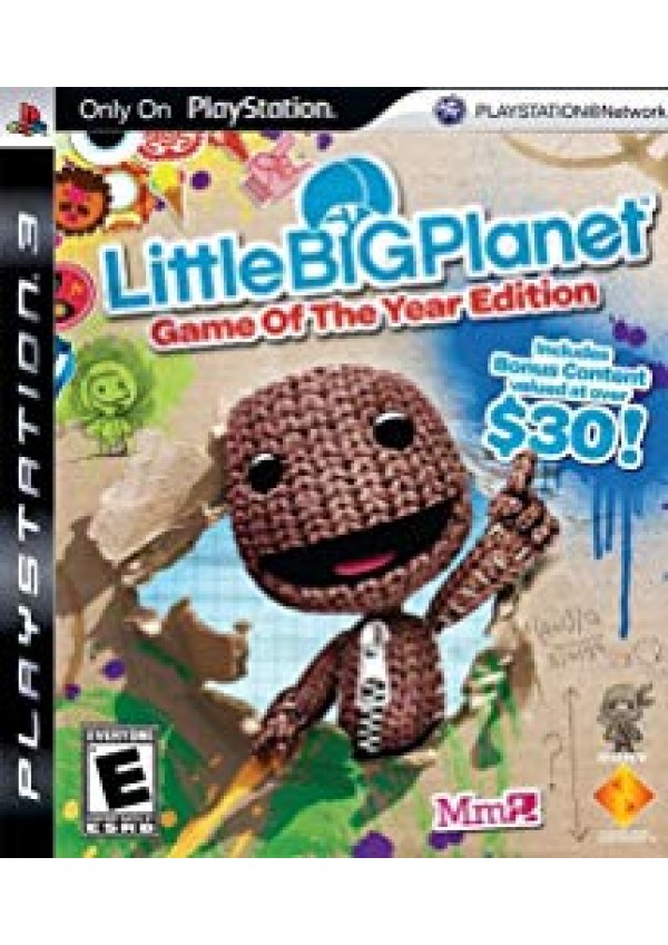 Little Big Planet Game Of The Year Edition/PS3