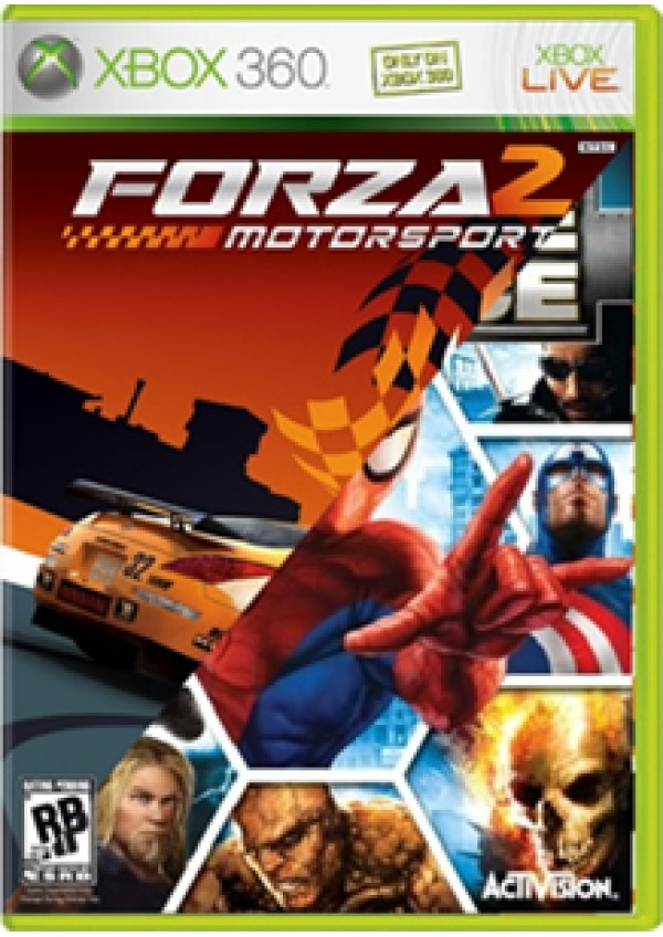 Marvel Ultimate Alliance/Forza 2/Xbox360