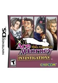 Ace Attorney Investigations Miles Edgeworth/DS