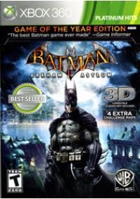 Batman Arkham Asylum Game Of The Year Edition/Xbox 360