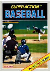 Super Action Baseball/Colecovision