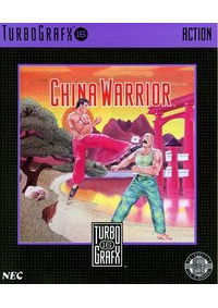 China Warrior/TurboGrafx-16