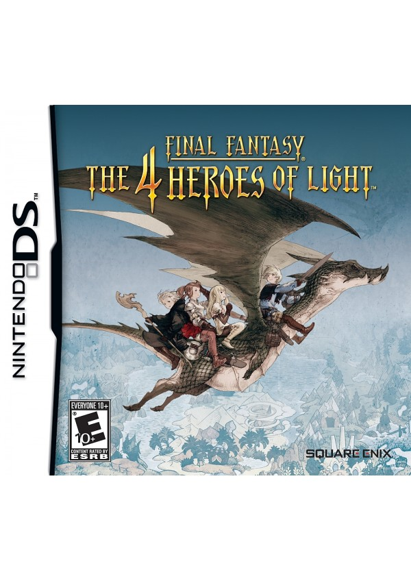 Final Fantasy The 4 Heroes Of Light/DS