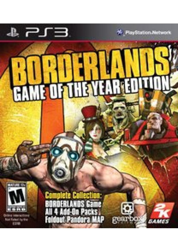 Borderlands Game Of The Year Edition/PS3