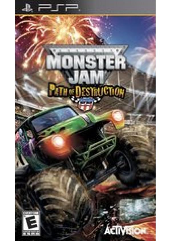 Monster Jam: Path of Destruction PSP