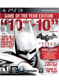 Batman Arkham City Game Of The Year Edition/PS3