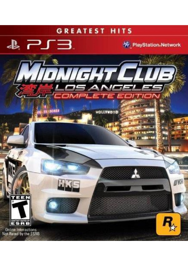 Midnight Club Los Angeles Complete Edition/PS3