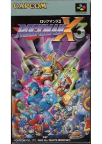 Rockman X3 (Mega Man X3 Japonais) / SFC