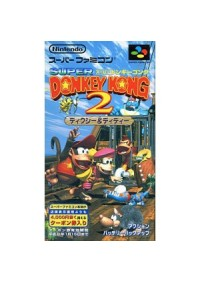 Donkey Kong Country 2 Diddy Kong's Kong Quest (JAPONAISE)/SFC