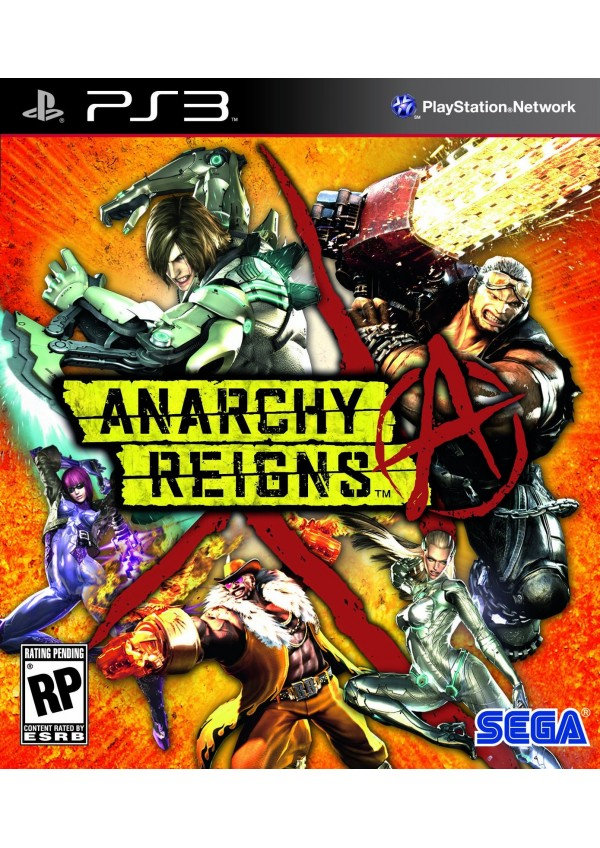 Anarchy Reigns/PS3
