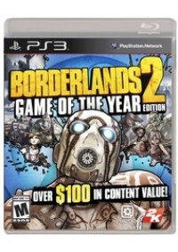 Borderlands 2 Game Of The Year Edition (GOTY) / PS3