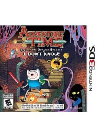 Adventure Time Explore The Dungeon Because I Don't Know/3DS
