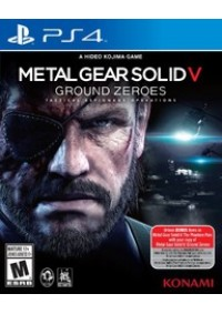 Metal Gear Solid V Ground Zeroes/PS4