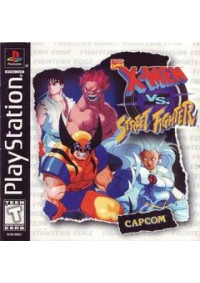 Marvel Comics X-Men VS. Street Fighter/PS1