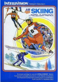 Skiing/Intellivision
