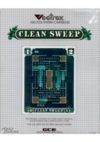 Clean Sweep/Vectrex