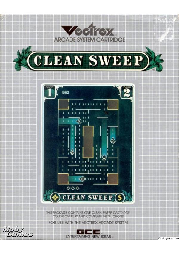 Clean Sweep/Vectrex