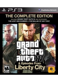 Grand Theft Auto IV The Complete Edition/PS3