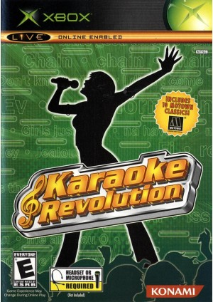 Bundle Karaoke Revolution + Karaoke Revolution Party + Micro Casque D'Ecoute (Headset)