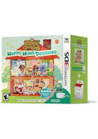 Animal Crossing Happy Home Designer Avec Lecteur Carte NFC/3DS