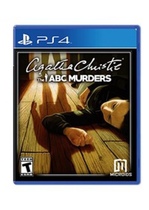 Agatha Christie The ABC Murders /PS4