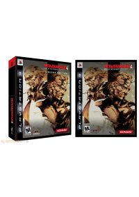 Metal Gear Solid 4 Guns Of The Patriots Limited Edition/PS3