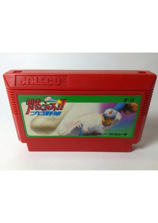 Moero Pro Yakyu Baseball JAPONAIS /Famicom