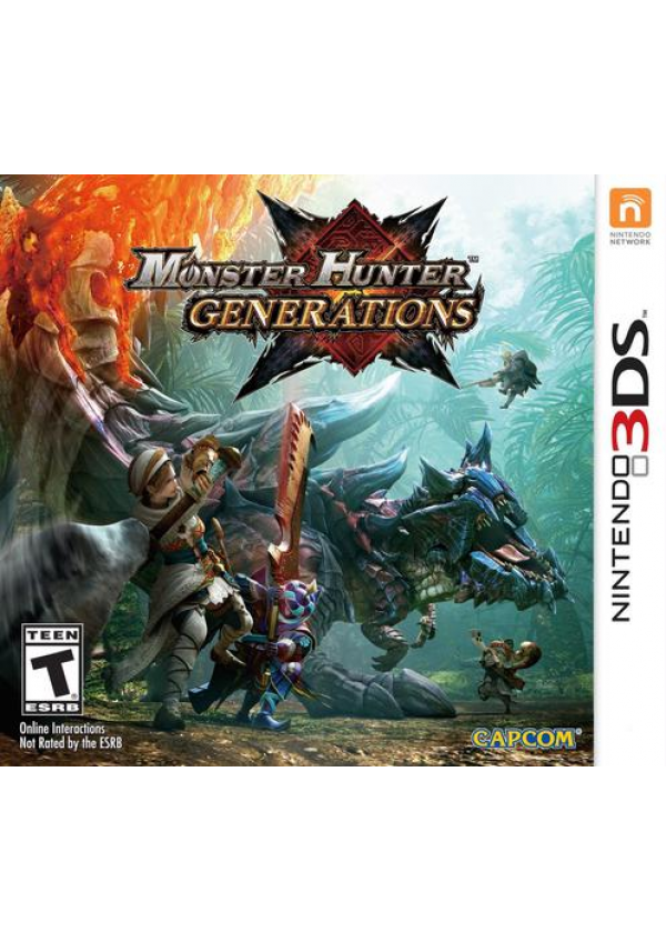 Monster Hunter Generations/3DS