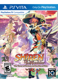 Shiren The Wanderer The Tower Of Fortune And The Dice Of Fate/PS Vita