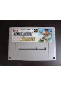 Simulation Pro Baseball (Japonais SHVC-AHAJ-JPN) / SFC
