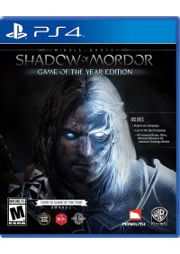 Middle Earth Shadow Of Mordor Game Of The Year Edition (GOTY) / PS4